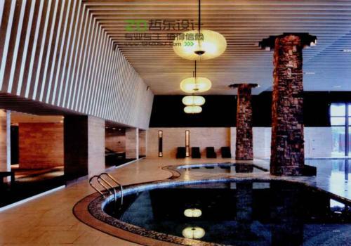 天津亿豪山水度假酒店设计效果图