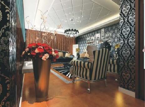 欧式宫廷风格 高调奢华私人会所设计方案欣赏