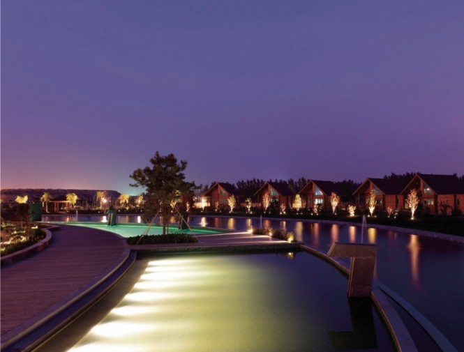 温泉度假洗浴中心设计方案 温泉度假村设计图