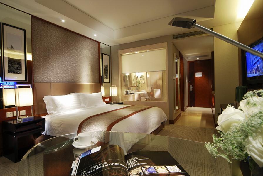 豪华五星级上海正地豪生酒店大堂设计效果图欣赏